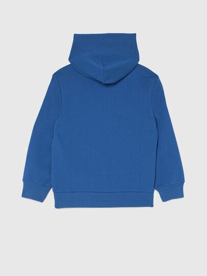Diesel - SGIRKHOODCODE OVER, Blue - Sweaters - Image 2