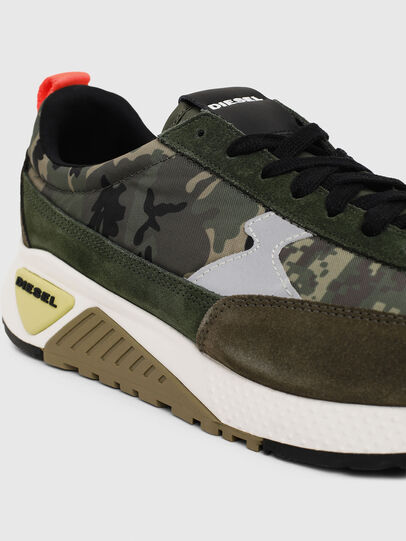 Diesel - S-KB LOW LACE II, Green Camouflage - Sneakers - Image 4