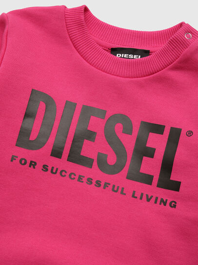 Diesel - SCREWDIVISION-LOGOB, Pink - Sweaters - Image 3