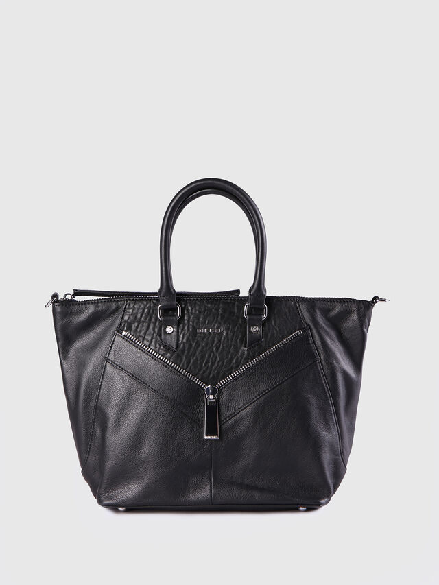 Diesel - LE-NINNA, Black - Shopping and Shoulder Bags - Image 1
