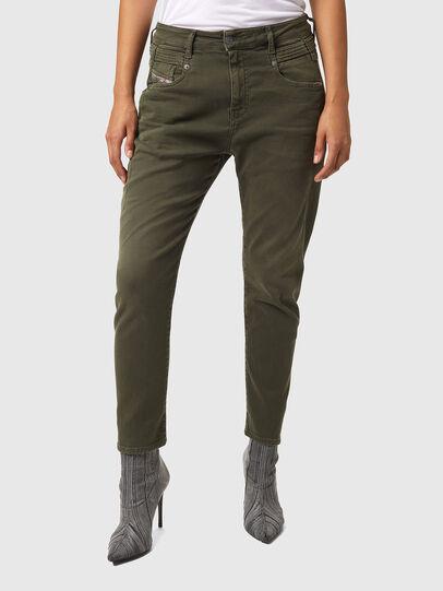 Diesel - Fayza JoggJeans® Z670M, Military Green - Jeans - Image 1