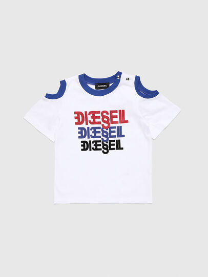 Diesel - TANIURAB, White - T-shirts and Tops - Image 1