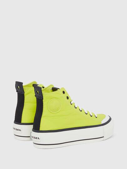 Diesel - S-ASTICO MC WEDGE, Yellow - Sneakers - Image 3