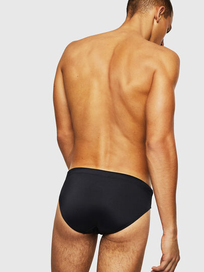 Diesel - BMBR-JACK, Black - Swim briefs - Image 2