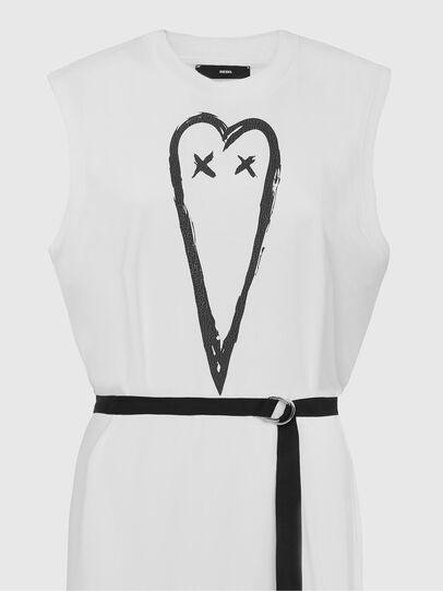 Diesel - D-FAIRY, White - Dresses - Image 4