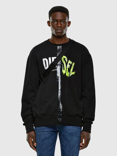 Diesel - S-BIAY-SPLIT, Black - Sweaters - Image 5
