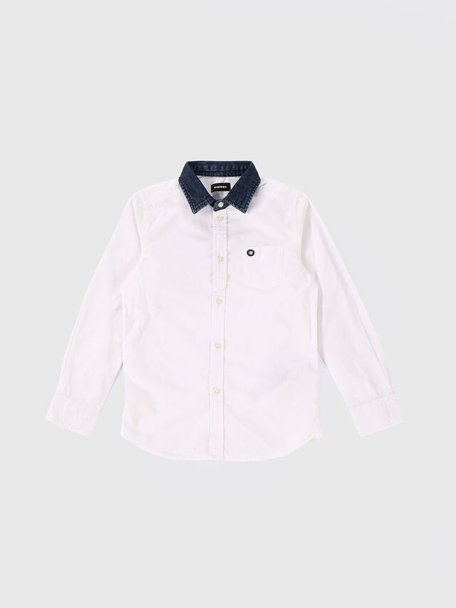 Diesel - CYMELDN, White - Shirts - Image 1