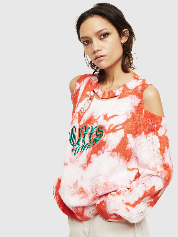 M-BOBBY, Pink/White - Knitwear