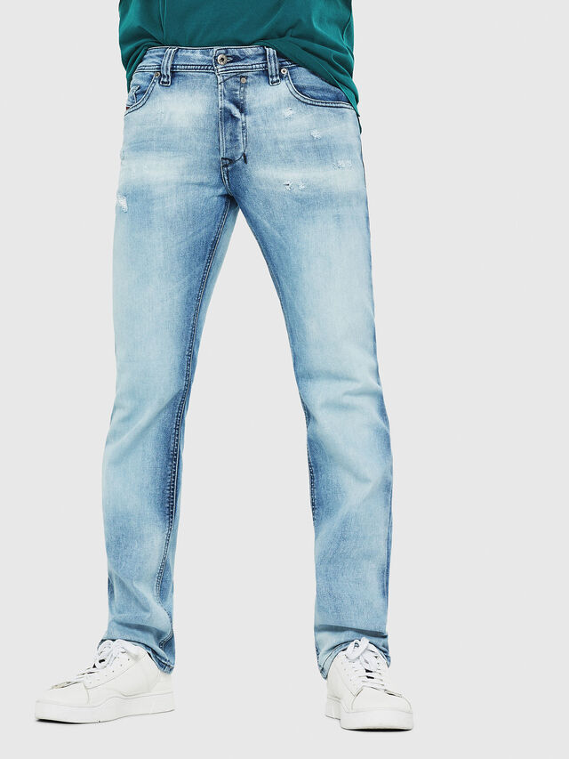 Diesel - Safado C81AS, Light Blue - Jeans - Image 1