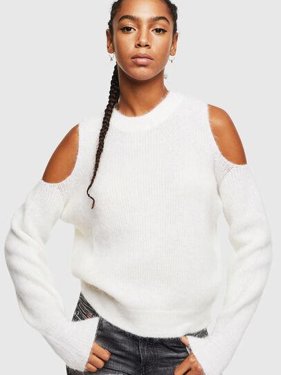 Diesel - M-LARA, White - Knitwear - Image 1