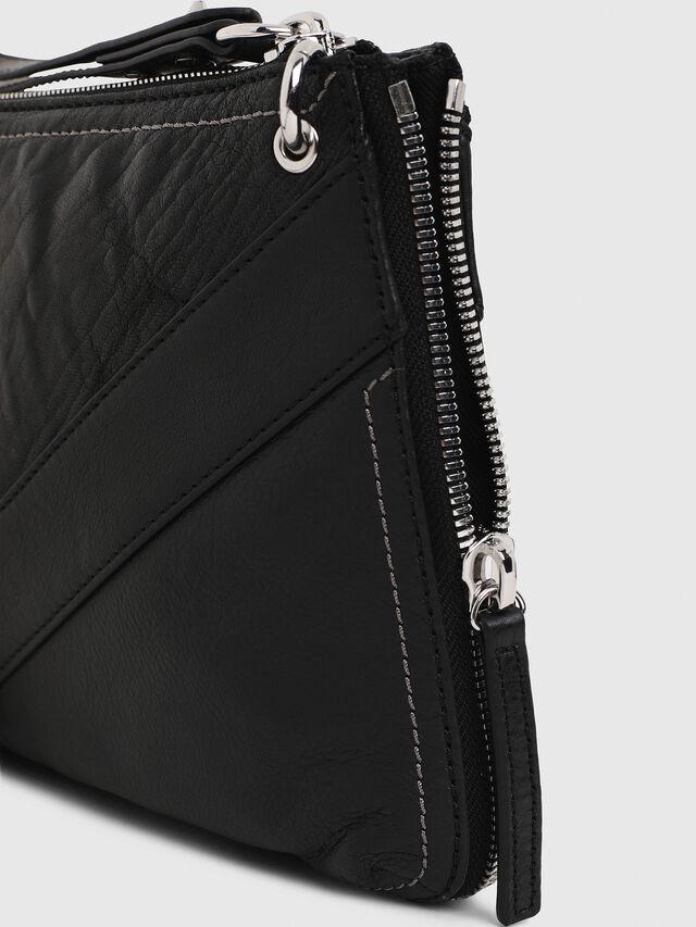 Diesel - LE-LITTSYY, Black Leather - Clutches - Image 6