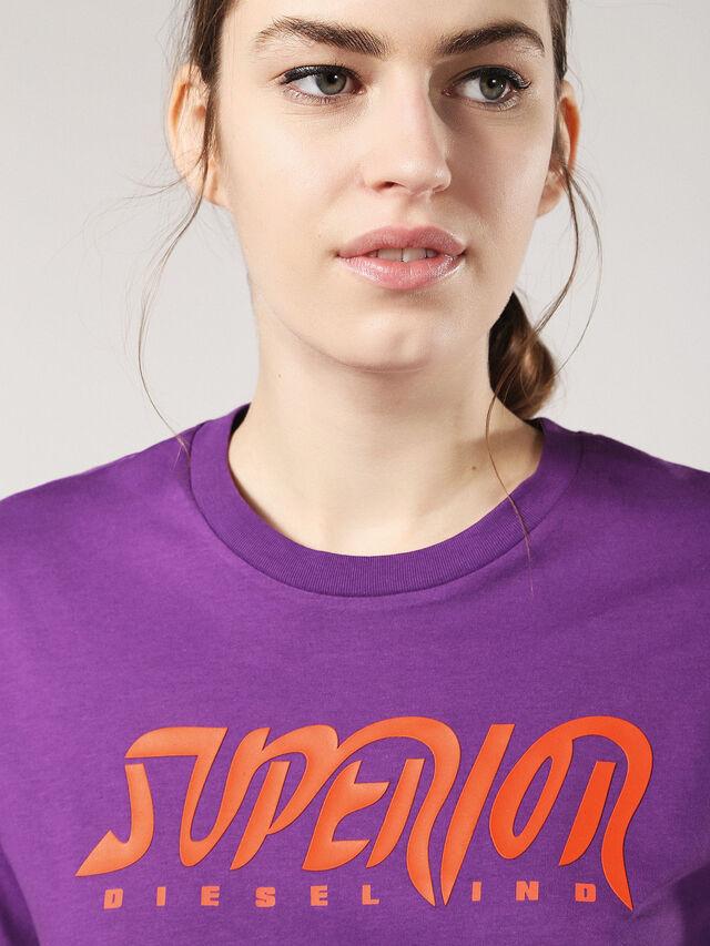 T-DIEGO-BB-FL, Aubergine Violet