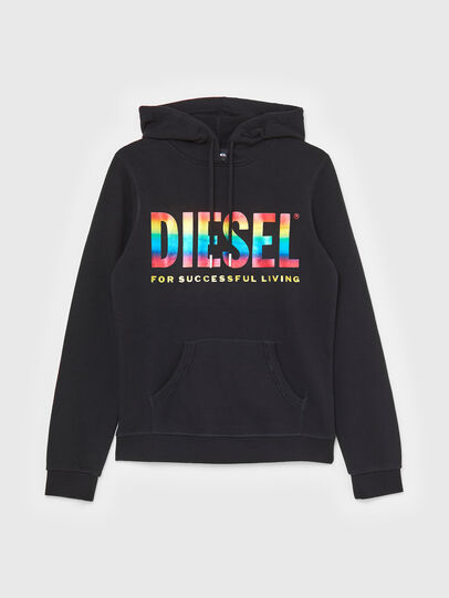 Diesel - UFLT-BRANDALWZ-P, Black - Sweaters - Image 1