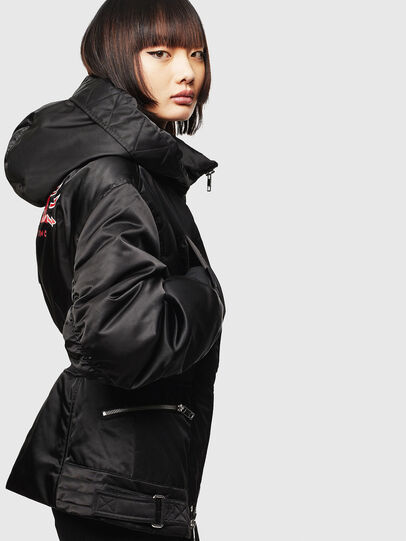 Diesel - CL-W-ISOKE-A-LITM, Black - Winter Jackets - Image 5