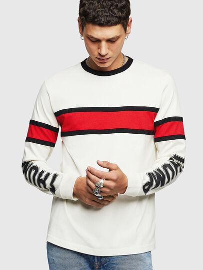 Diesel - T-BERG, White - T-Shirts - Image 1