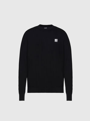K-FREEX-B, Black - Knitwear