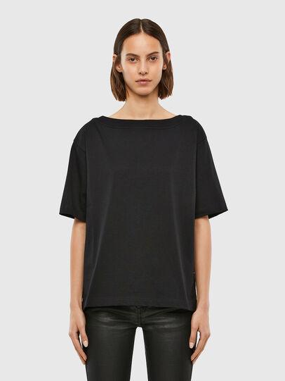 Diesel - T-SBUSETTE, Black - T-Shirts - Image 1