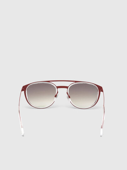 Diesel - DL0293, Red/White - Sunglasses - Image 4