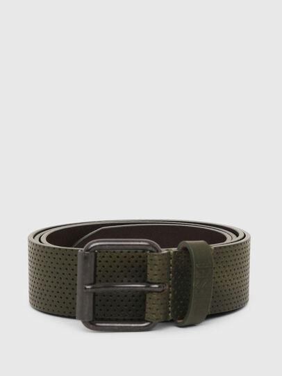Diesel - B-LOLLO, Olive Green - Belts - Image 1