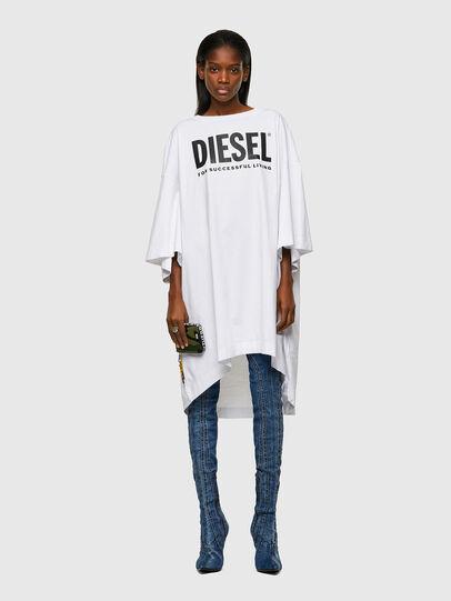 Diesel - D-EXTRA-ECOLOGO, White - Dresses - Image 1