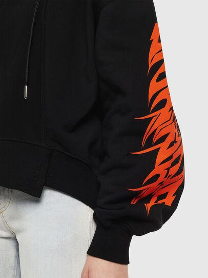 Diesel - F-KREEN, Black - Sweaters - Image 3