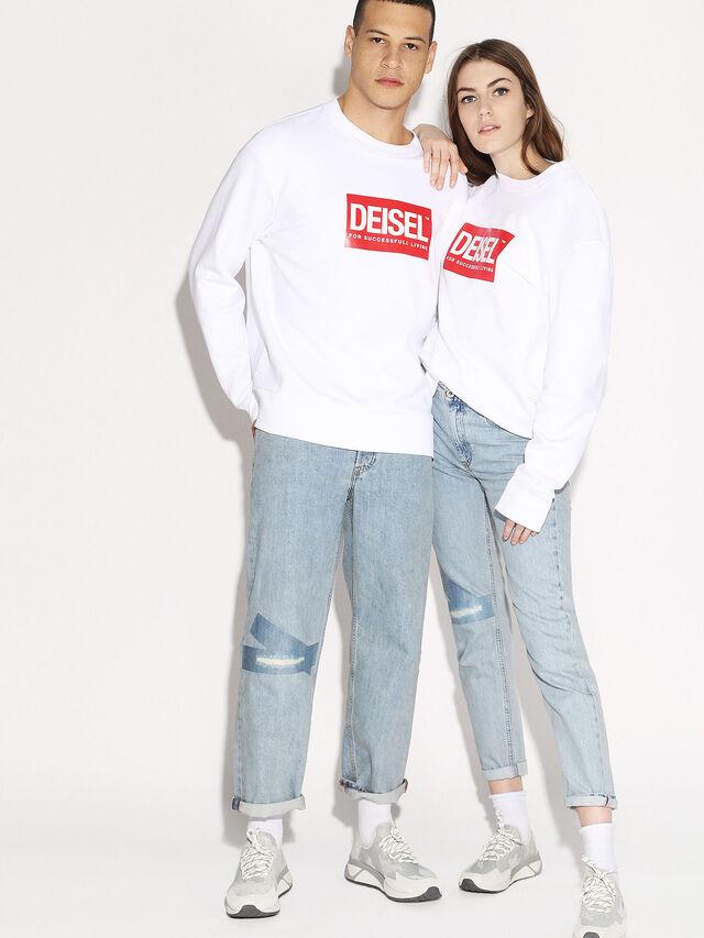 Diesel - DEIS-SGIRO, White - Sweaters - Image 4