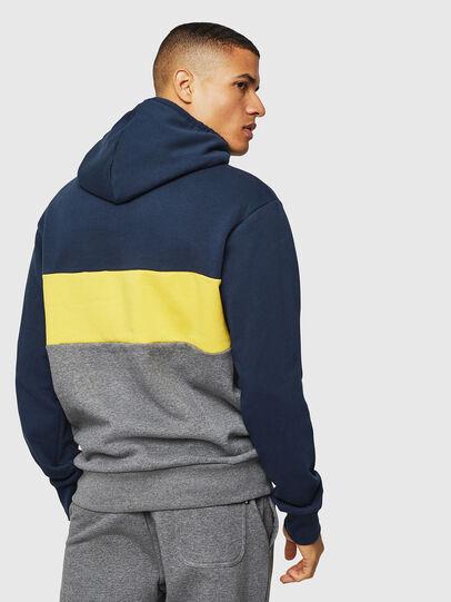 Diesel - UMLT-BRANDON, Blue/Grey - Sweaters - Image 2