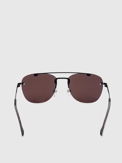 Diesel - DL0350, Black/Red - Sunglasses - Image 4