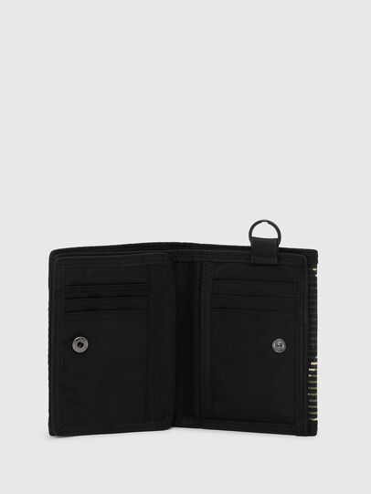 Diesel - YOSHI, Black/Green - Small Wallets - Image 3