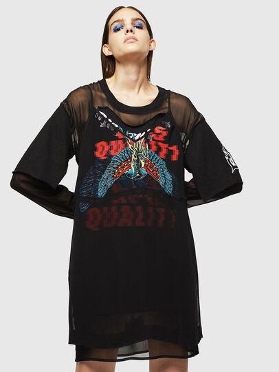 Diesel - D-STASYA, Black - Dresses - Image 1