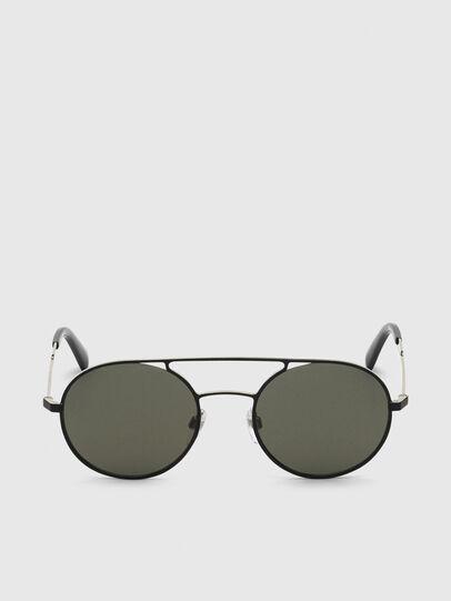 Diesel - DL0301, Black/Gold - Sunglasses - Image 1