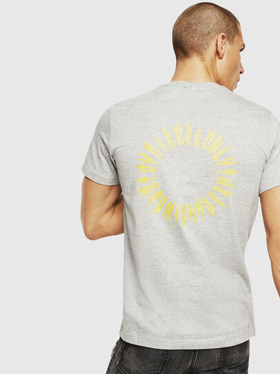Diesel - T-DIEGO-A12, Light Grey - T-Shirts - Image 2