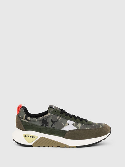 Diesel - S-KB LOW LACE II, Green Camouflage - Sneakers - Image 1