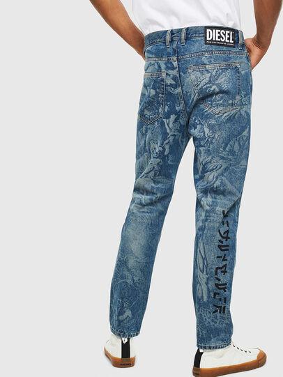 Diesel - D-Vider 0079D, Medium blue - Jeans - Image 2