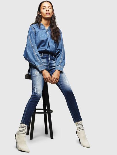 Diesel - Babhila 0091Y, Medium blue - Jeans - Image 4