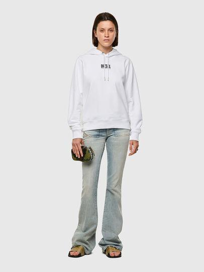 Diesel - F-ANGS-H-ECOSMALLOGO, Black/White - Sweaters - Image 4