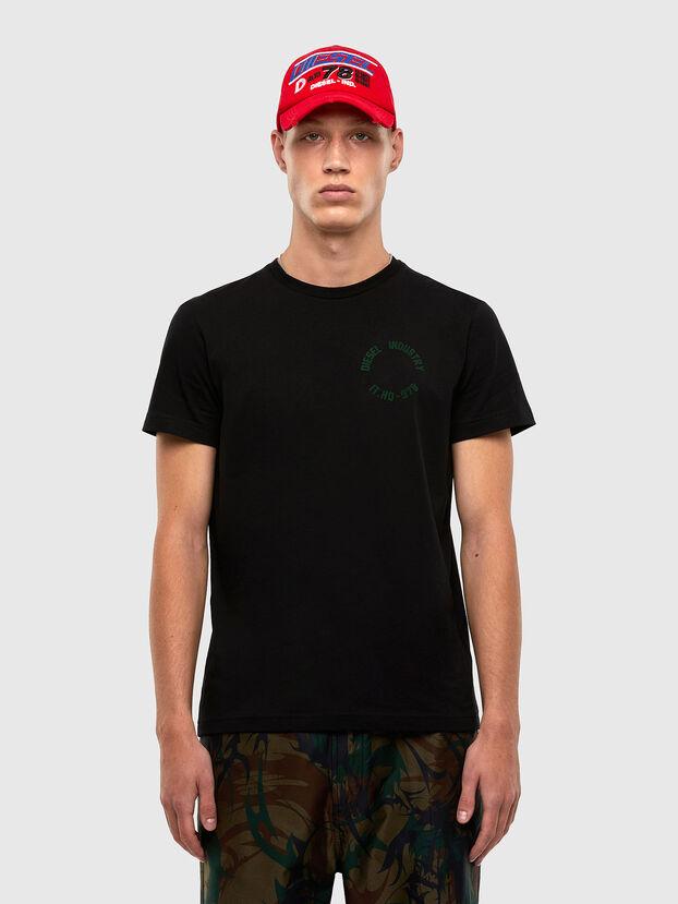 T-DIEGOS-N26, Black - T-Shirts