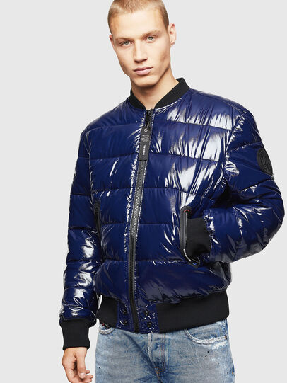 Diesel - W-ON, Blue - Winter Jackets - Image 1