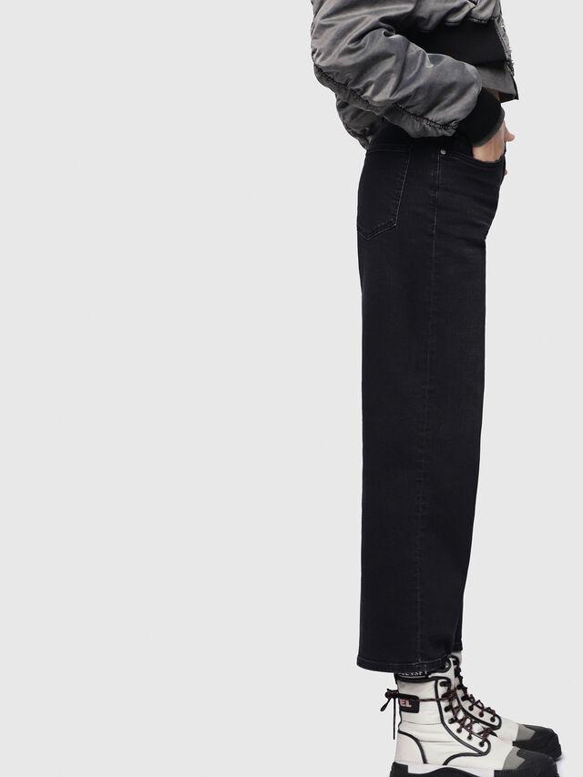 Diesel - Widee 084HQ, Black/Dark grey - Jeans - Image 3