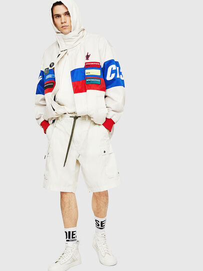 Diesel - P-AIMI-P, White - Shorts - Image 5