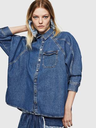 DE-NOVA, Medium blue - Denim Shirts