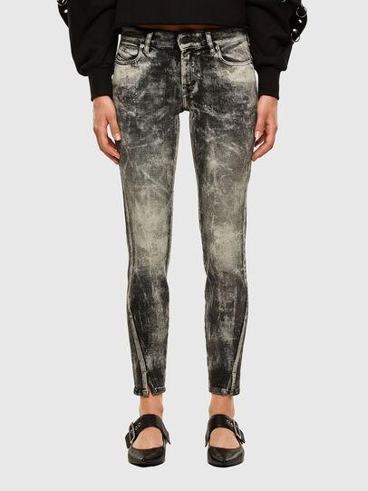 Diesel - D-Jevel 009FG, Light Grey - Jeans - Image 1
