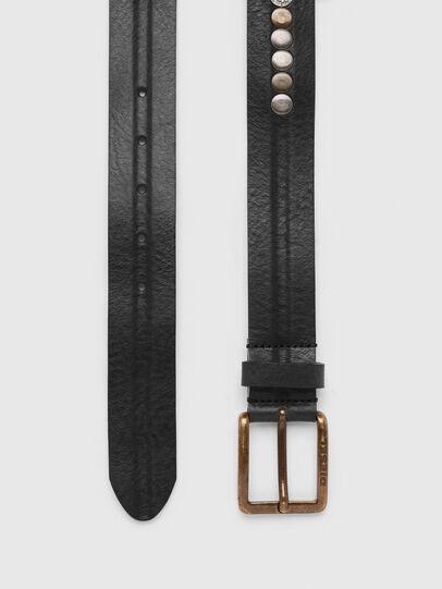 Diesel - B-LATERAL, Black - Belts - Image 3