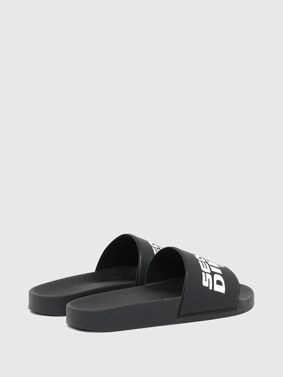 Diesel - SA-VALLA W, Dark Blue - Slippers - Image 3