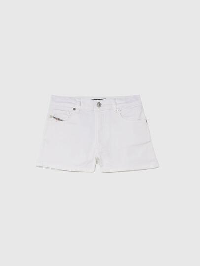 Diesel - PBOYSHORT JOGGJEANS, White - Shorts - Image 1