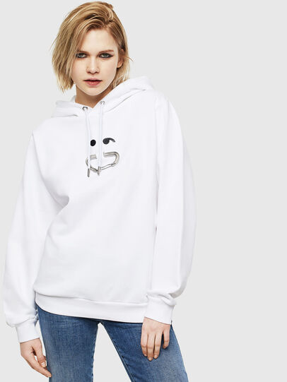 Diesel - F-ANG-HOOD-S1,  - Sweaters - Image 1