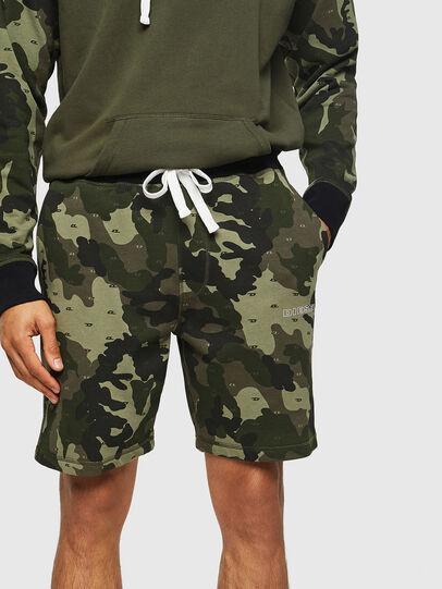 Diesel - UMLB-PAN, Green Camouflage - Pants - Image 4