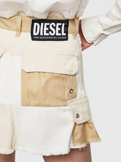 Diesel - O-AMATA-A, Cream - Skirts - Image 5