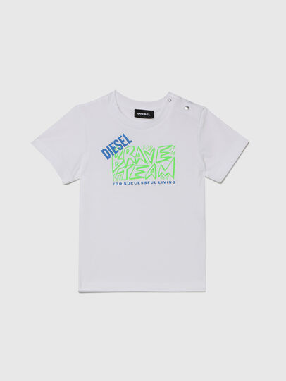 Diesel - TESSOB, White - T-shirts and Tops - Image 1