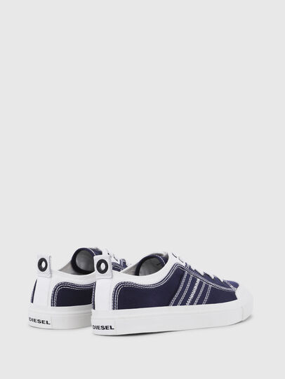 Diesel - S-ASTICO LOW LACE, Blue/White - Sneakers - Image 3